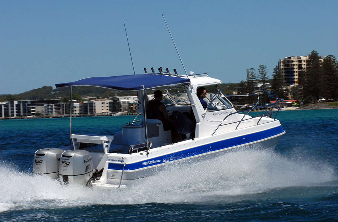 Boats for sale Sunshine Coast like the Allrounder by Lifestyle Boats.